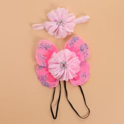 1 set Baby Photography Props Soft Sequin Cute Headband for G