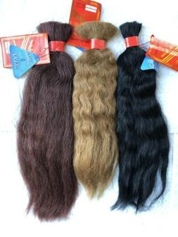 100% Human Hair for Braiding, Wet & Wavy Style Bulk Hair by