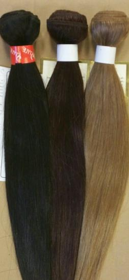100% Human Hair for Weaving - STRAIGHT - CLOSEOUT