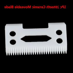 1X Ceramic Blade 28 Teeth with 2-hole Accessories for Cordle