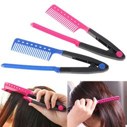 1X Straight Hair Comb Brush Tool For Dry Iron Hair Curl to S