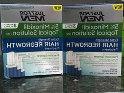 2 Just For Men Minoxidil 5% Extra Strength Hair Regrowth Tre