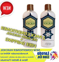 2 Pack Indio Huichol Organic Conditioner Herbs Mexican Treat