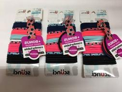 Scunci No Damage Comfortable Med - Hair Ties Mix Of Colors 2