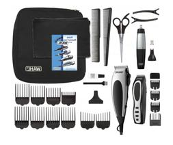 Wahl 30 Piece Hair Cut Home Barber Kit Clipper Trimmer Serie