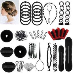 39X Hair Styling Accessories Kit Set Hair Maker Fast Spiral
