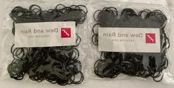 500 small black rubber bands for crafts