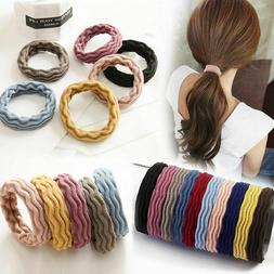 5pcs Hair Ties Elastic Rubber Band Rope for Baby Girls Fashi
