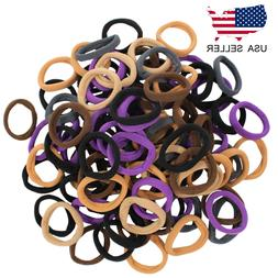 60 PCS Multi Color Seamless Elastic Hair Ties Ponytail Holde