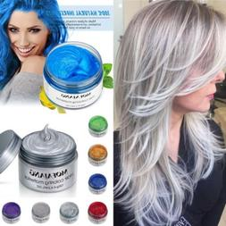 7 Colors Hair Color Pomades MOFAJANG Wax Mud Dye Styling Cre