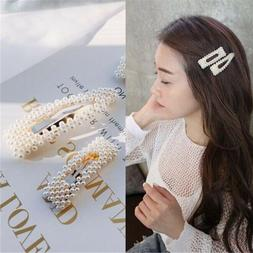 7 Styles Pearl Hair Clip Hair Styling Make up Tools for Girl