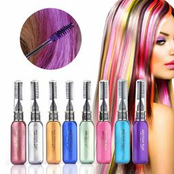 8Color/Set Temporary Hair Chalk Non-Toxic Hair Coloring Chal