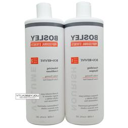 Bosley Revive Shampoo & Conditioner For Visibly Thinning Col