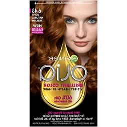 Garnier Olia Hair Color, 6.43 Light Natural Auburn, Ammonia