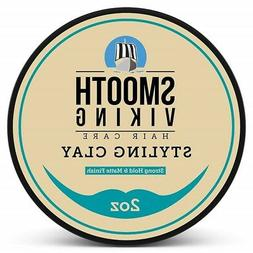 Hair Styling Clay for Men – Pliable Molding Cream with Mat
