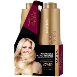 Joico K Pak Color Therapy Shampoo and Conditioner Liter Size