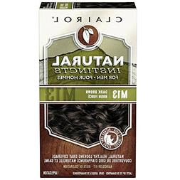 Clairol Natural Instincts Hair Color For Men M13 Dark Brown