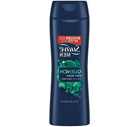 Suave Quench Men Body Wash, 15 Ounce
