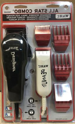 Wahl All Star Combo 785340 - Wahl Designer Clipper + Wahl Pe