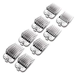 Andis 8-Piece Magnetic Chrome Comb Set