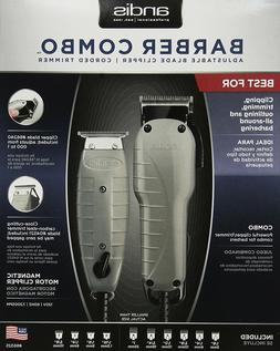 Andis Barber Combo 66325 Envy , T-Outliner  + Attachment Com