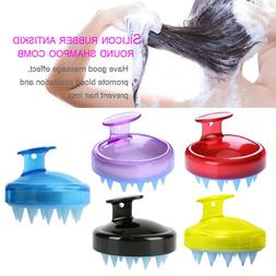 For Bath Shower Grooming Hair Comb Brush Hair Washing Silico