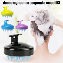 For Bath Shower Hair Washing Grooming Silicone Scalp Massage