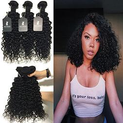 RISSING Brazilian Hair 8a Unprocessed Virgin Deep Wave Curly