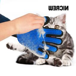 Nicrew cat grooming glove <font><b>for</b></font> cats wool