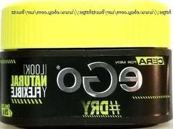eGo Cera For MEN # DRY Look Natural Y Flexible Fixing WAX Fo
