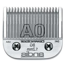 Andis CeramicEdge Carbon-Infused Steel Clipper Blade, Size-0
