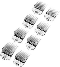 Andis Chrome Plated Magnetic 8-Piece Comb Set