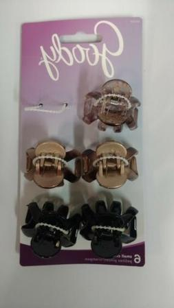 Goody Claw Clips for Hair, 5 Clips - Colors Exactly As Shown