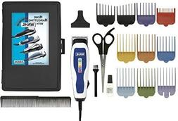 Wahl Men's Clippers Complete 17-Piece Barbers Kit, with Colo