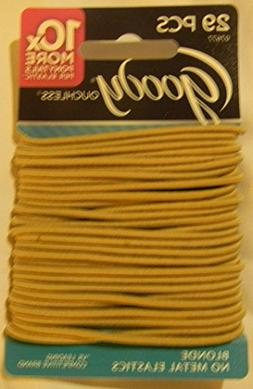 Goody Colour Collection 2 MM Elastics, Blonde Hair Ties, 29