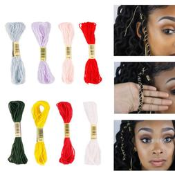 Colorful Hair Strings for Styling Box Braid Hair Accessories