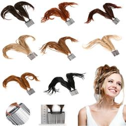 Comb Foxtail Hairpiece Braid Bun Updo Bendable Wire Syntheti