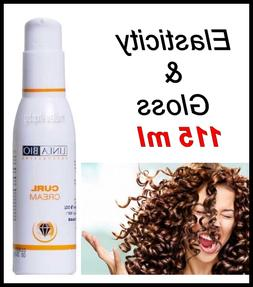 Linea Bio Curl Cream for Curly & Wavy Hair Give Elasticity &