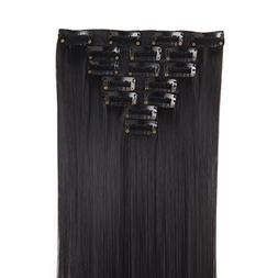 """MapofBeauty 20""""/50cm Daily use and Party use Long Straight 7"""