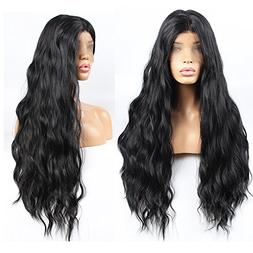 Stylistlee 250%Density Fashion Long Natural Wave Free Part H