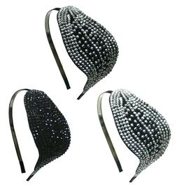 Fashion Headband for Women Girls Metal Hair Band Rhinestones
