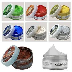 Fashion Temporary Color Dye Mud Salon Hair Wax Cream Styling