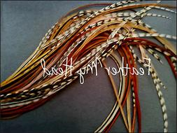 Feathers For Hair - Crafts - Jewelry - Pick Your Legth Up To