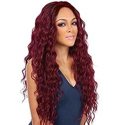 ForQueens Long Curly Wigs for Women Natural Hair Wigs Wavy R
