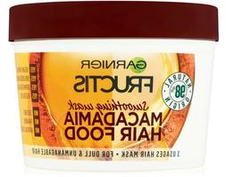 Garnier Fructis Hair Mask Macadamia Hair Food For Dull & Unm