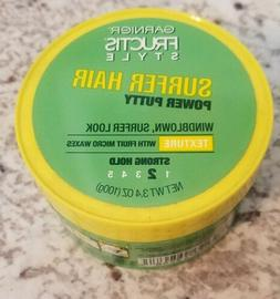 GARNIER FRUCTIS STYLE POWER PUTTY SURFER HAIR 3.0oz EACH *SE