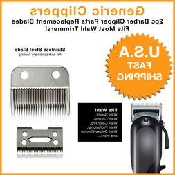 GENERIC 2PCS Replacement Clipper Blades for WAHL Electric Ha