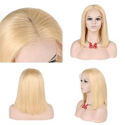 Modernfairy Hair Glueless Lace Front Blond Human Hair Bob Wi