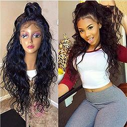 Helene Glueless Lace Front Wigs Long Natural Water Wave Swis