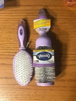 goody Hair Brush Lot of 2 Brushes —year 2002. Made In The